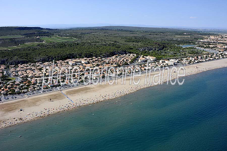 Photo aérienne Narbonne-plage (2) - Aude : PAF