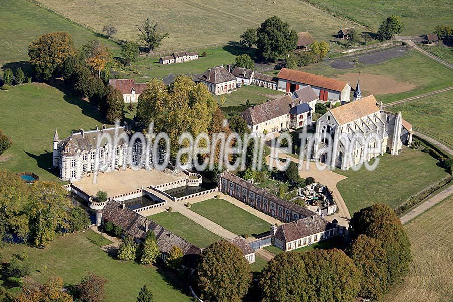 photo aérienne chateau du breuil benoit 4 eure paf