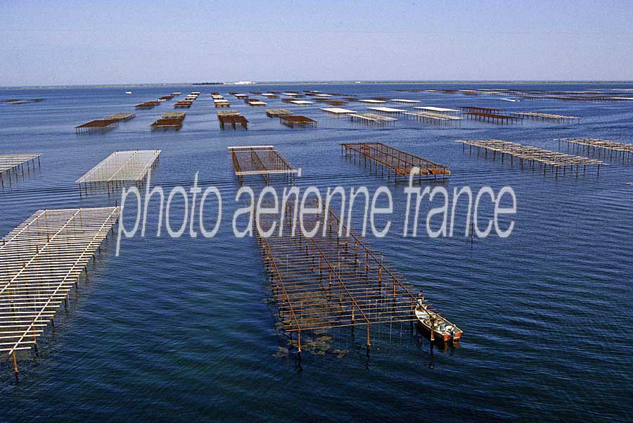 Photo a rienne bassin de thau 14 h rault paf - Bassin rectangulaire m montpellier ...
