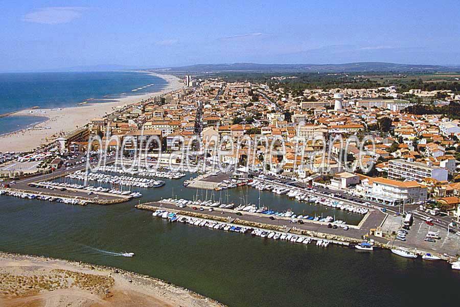 Photo a rienne valras plage 1 h rault paf - Office du tourisme valras plage herault ...