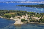 06ile-de-saint-honorat-14-0714 - Photo aérienne ile-de-saint-honorat (14) - Alpes-Maritimes : PAF