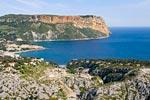 photo aérienne calanques cassis Marseille