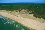 33carcans-plage-2-e00 - Photo aérienne Carcans-plage (2) - Gironde : PAF
